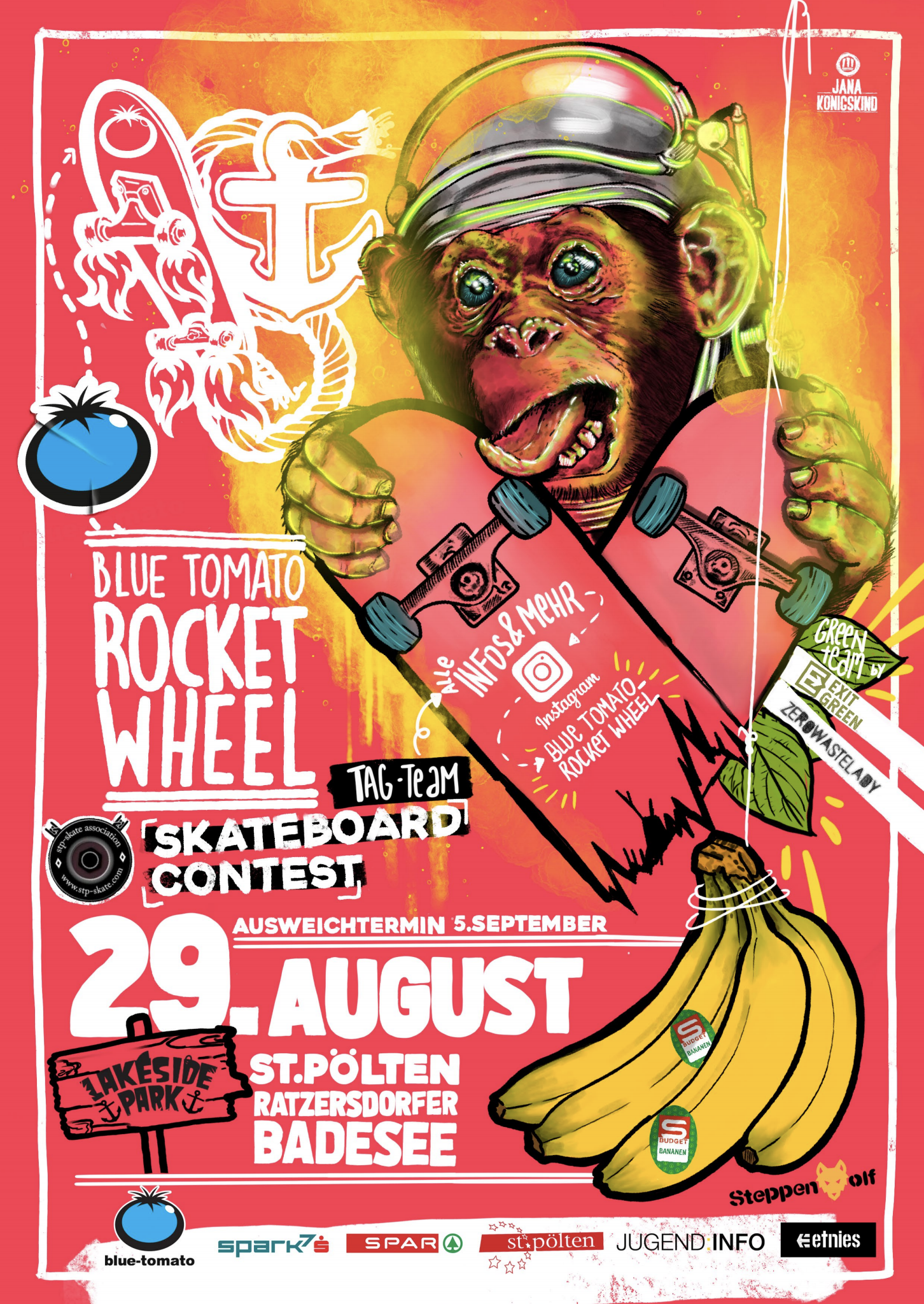 Blue Tomato Rocketwheel - Flyer 1